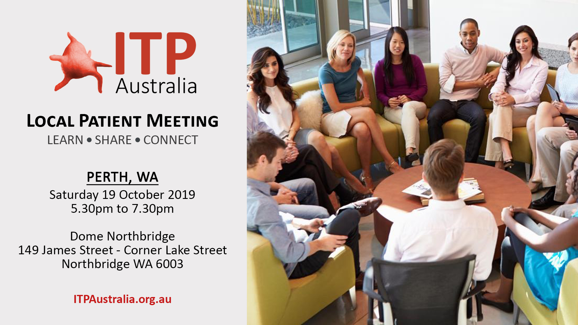 ITP Local Patient Meeting - Perth WA