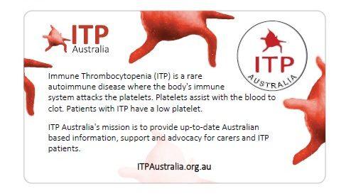 ITP Awareness Pin