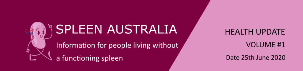 Spleen Australia - Health Update Header