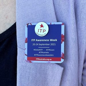 2021 Awareness Week - Pin Card Purple