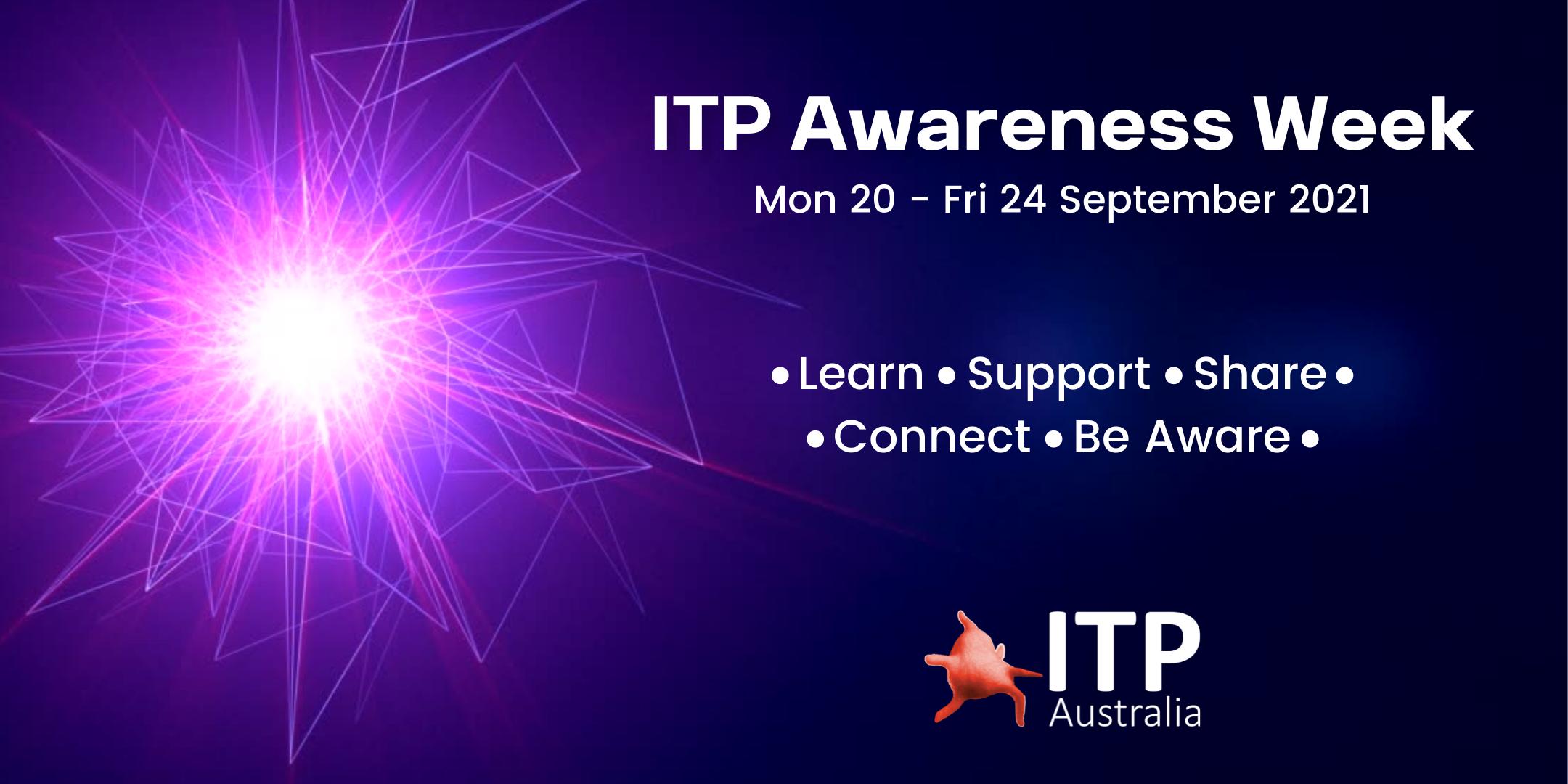 2021 ITP Awareness Week